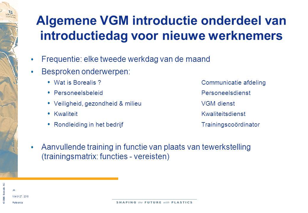 Algemene VGM introductie onderdeel van introductiedag voor nieuwe werknemers