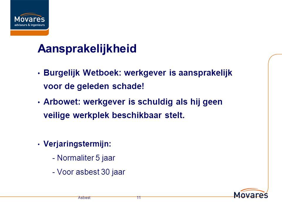 Aansprakelijkheid Burgelijk Wetboek: werkgever is aansprakelijk voor de geleden schade!