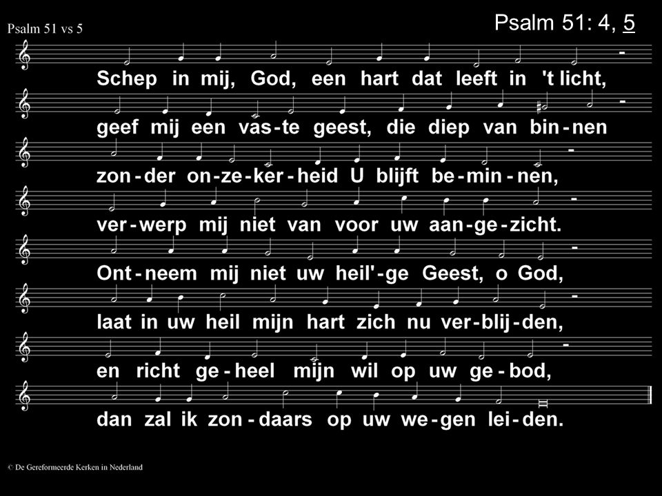 Psalm 51: 4, 5