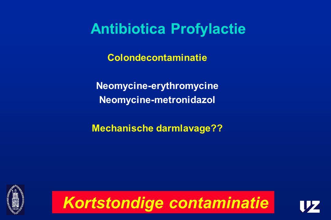 Antibiotica Profylactie