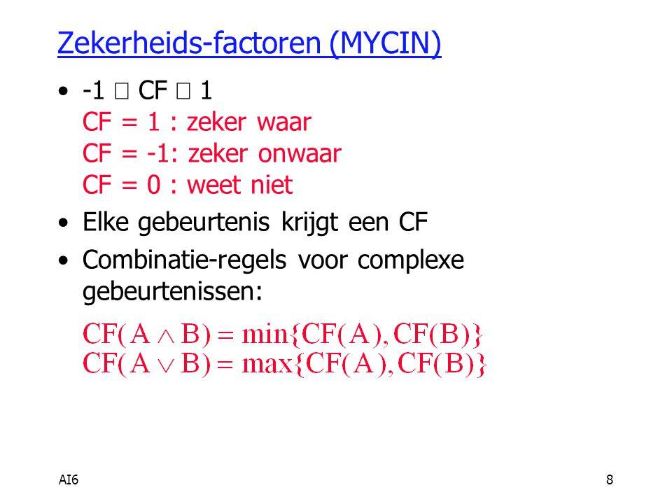 Zekerheids-factoren (MYCIN)