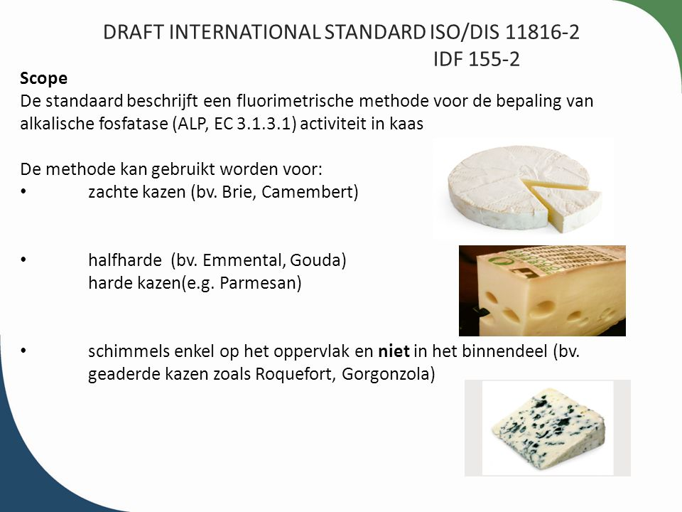 DRAFT INTERNATIONAL STANDARD ISO/DIS 11816-2 IDF 155-2