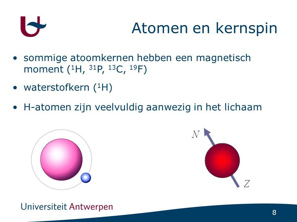 Atomen en magnetische spins