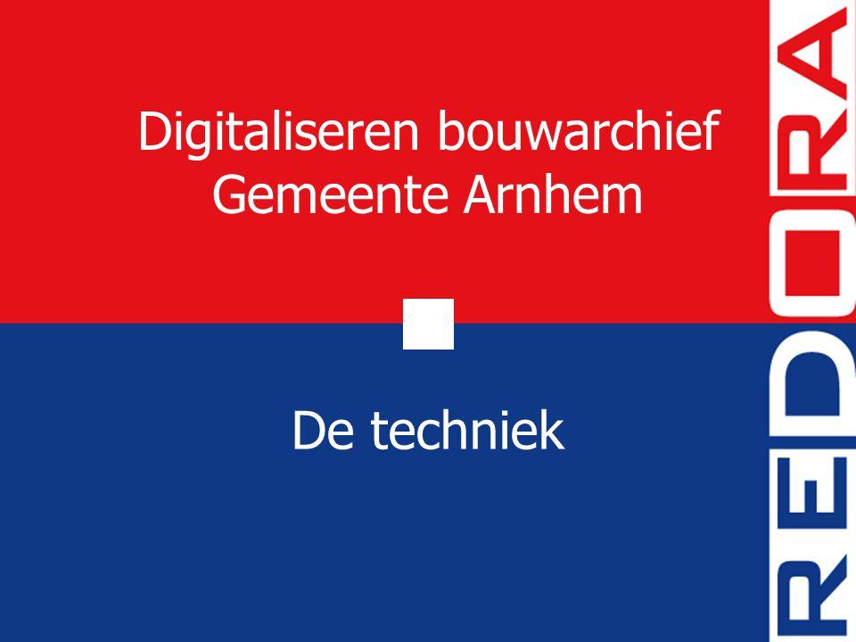 Digitaliseren bouwarchief Gemeente Arnhem