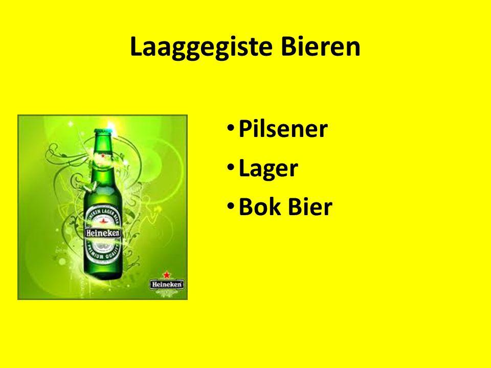Laaggegiste Bieren Pilsener Lager Bok Bier