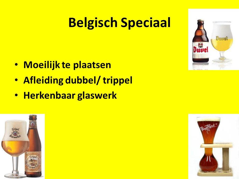 Belgisch Speciaal Moeilijk te plaatsen Afleiding dubbel/ trippel
