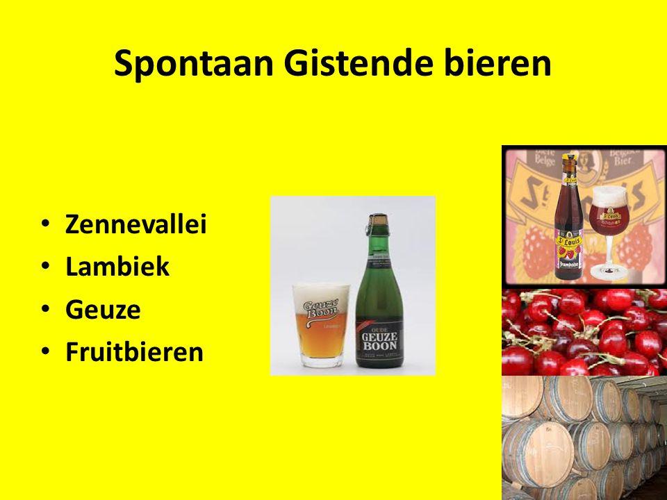 Spontaan Gistende bieren