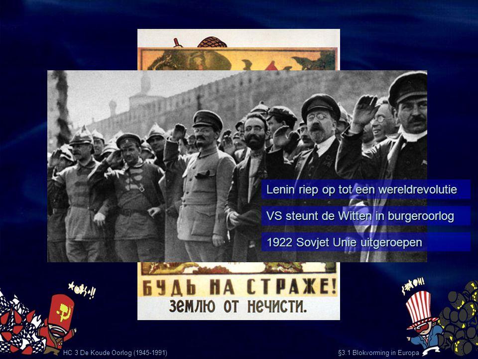 Lenin riep op tot een wereldrevolutie
