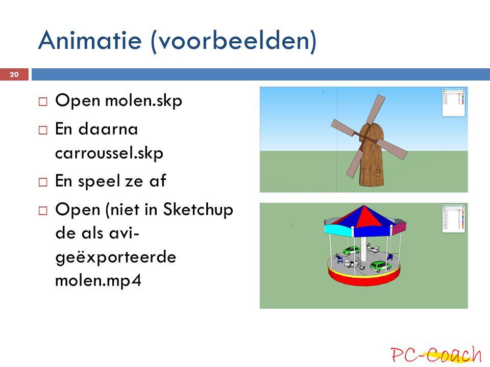 Animatie (voorbeelden)