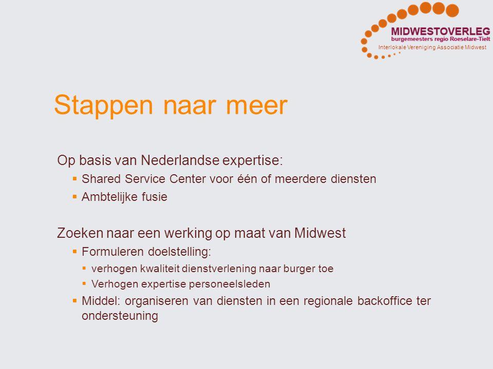 Stappen naar meer Op basis van Nederlandse expertise: