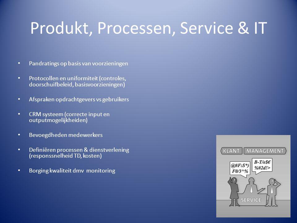 Produkt, Processen, Service & IT