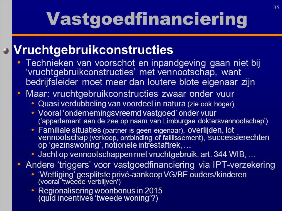 Vastgoedfinanciering