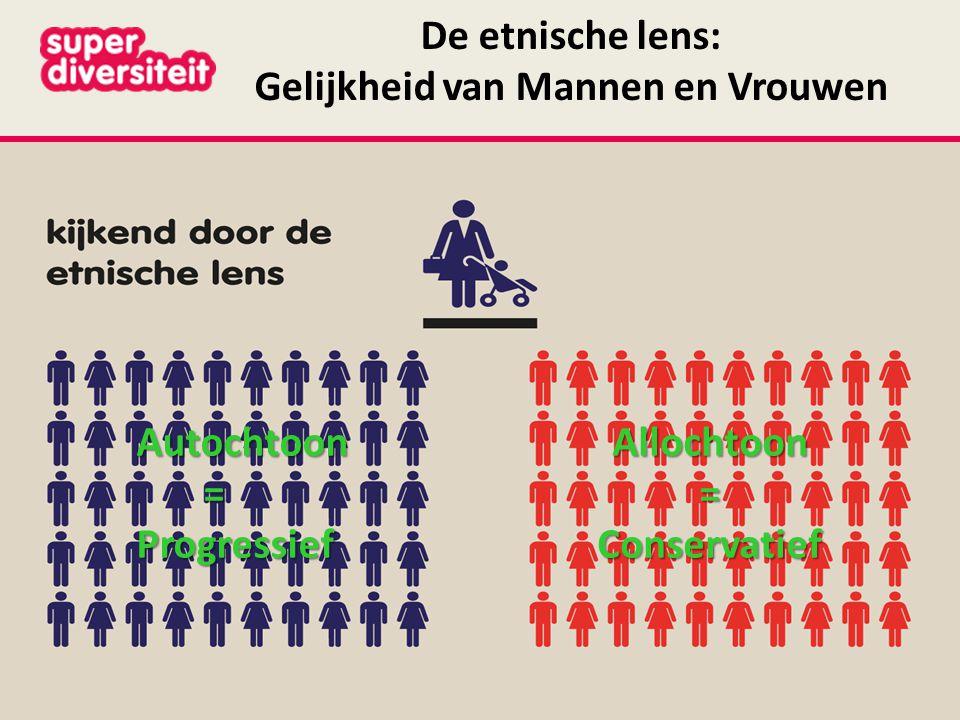 De etnische lens: Gelijkheid van Mannen en Vrouwen
