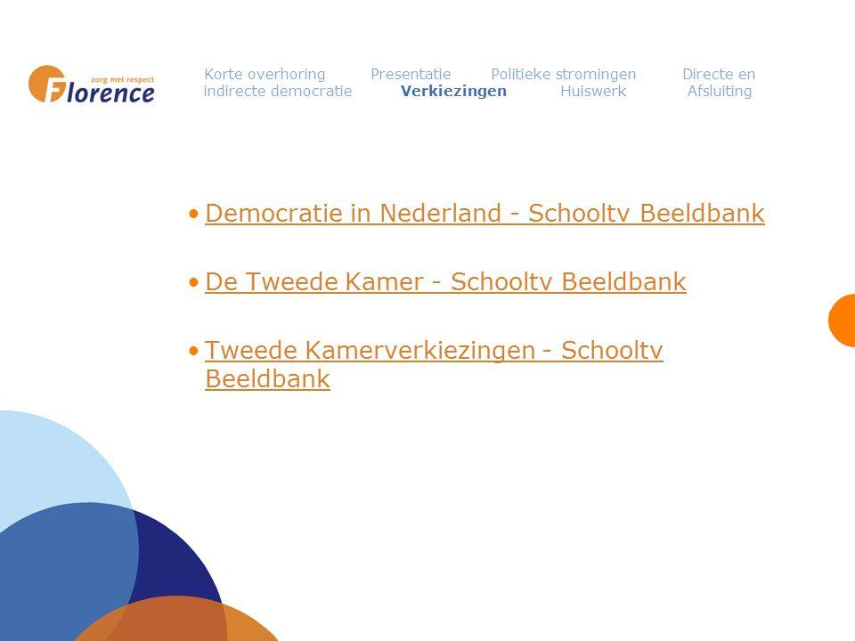 Democratie in Nederland - Schooltv Beeldbank