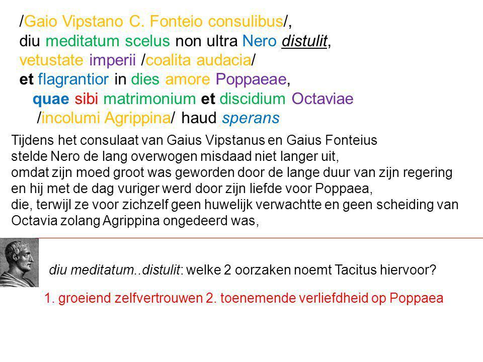 /Gaio Vipstano C. Fonteio consulibus/,