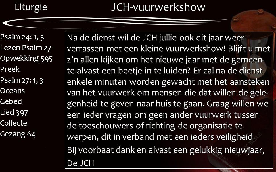 JCH-vuurwerkshow