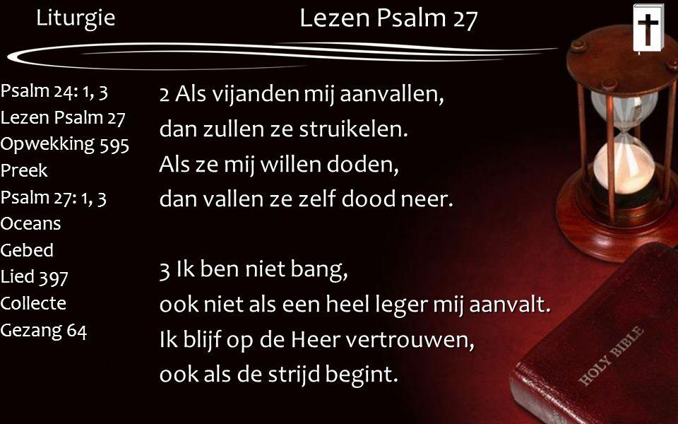 Lezen Psalm 27