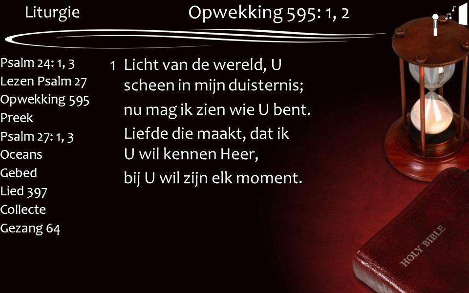 Opwekking 595: 1, 2