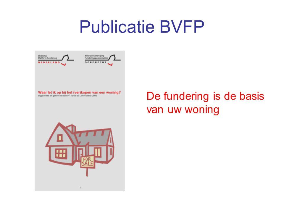 Publicatie BVFP De fundering is de basis van uw woning