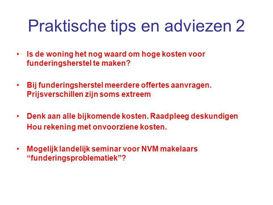 Praktische tips en adviezen 2