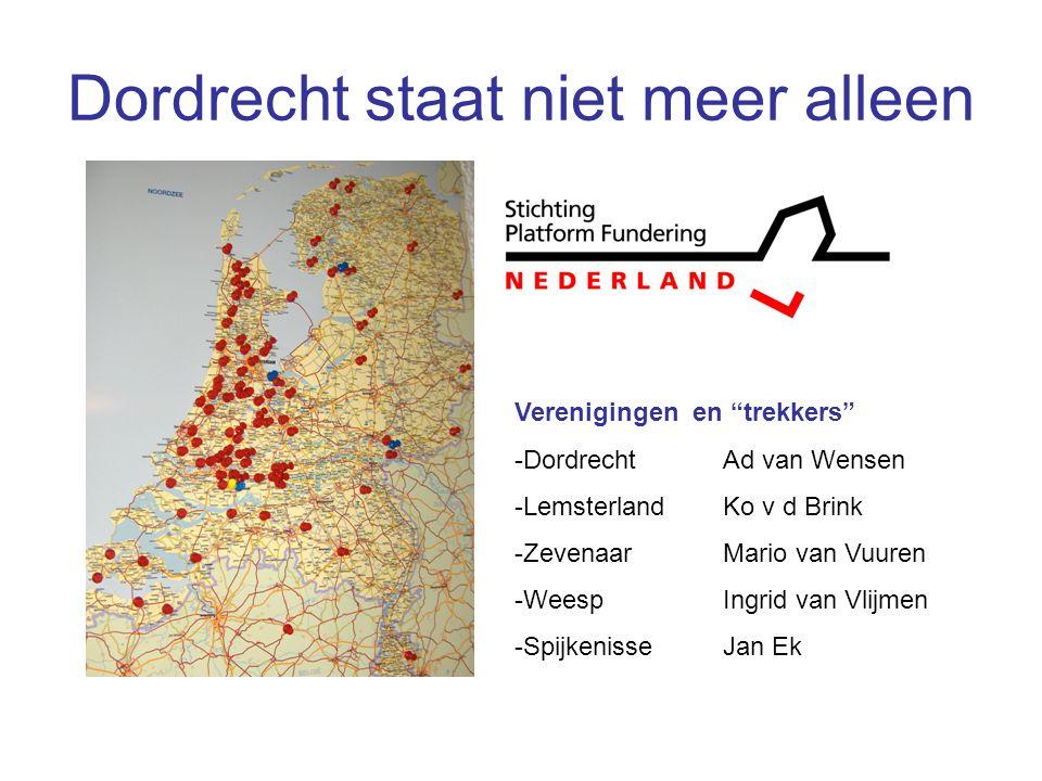 Dordrecht staat niet meer alleen