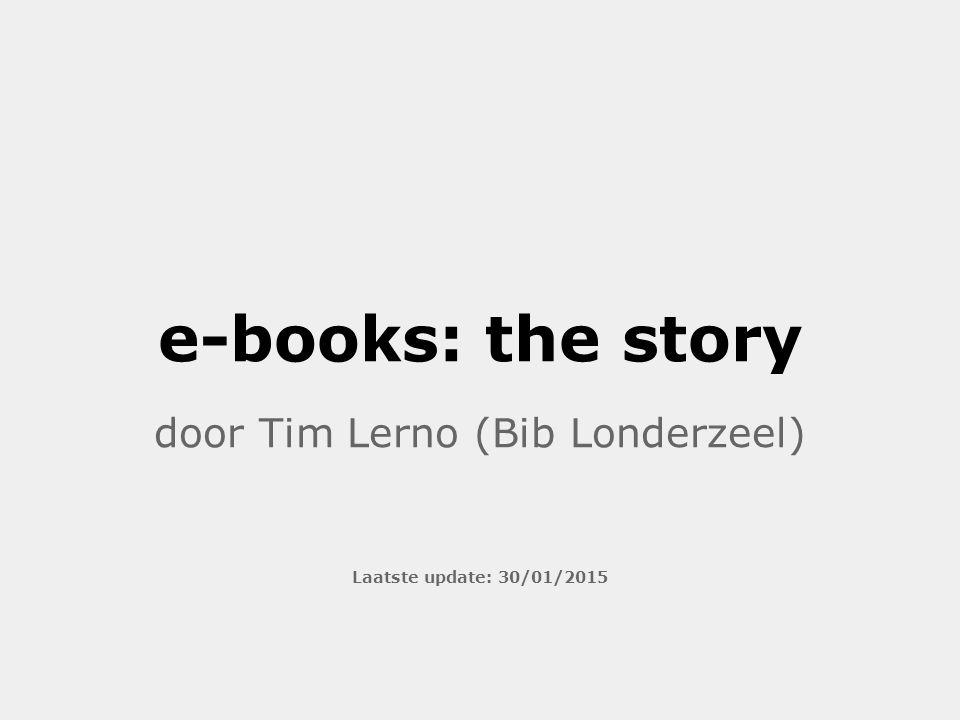 door Tim Lerno (Bib Londerzeel) Laatste update: 30/01/2015