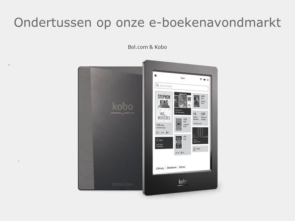 Ondertussen op onze e-boekenavondmarkt Bol.com & Kobo .