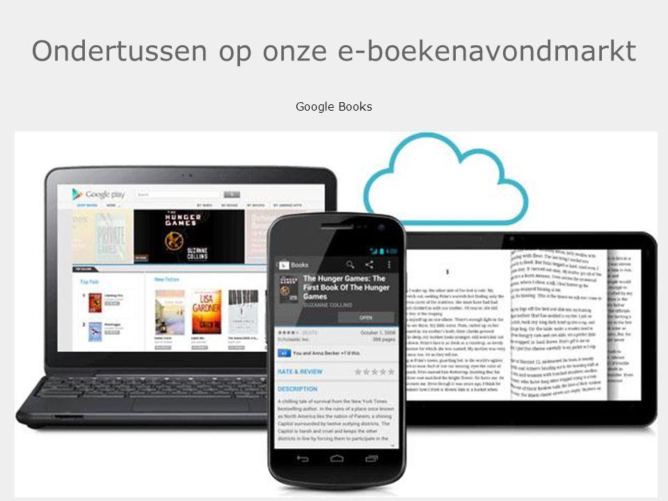 Ondertussen op onze e-boekenavondmarkt Google Books .