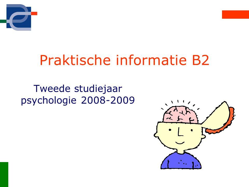 Praktische informatie B2