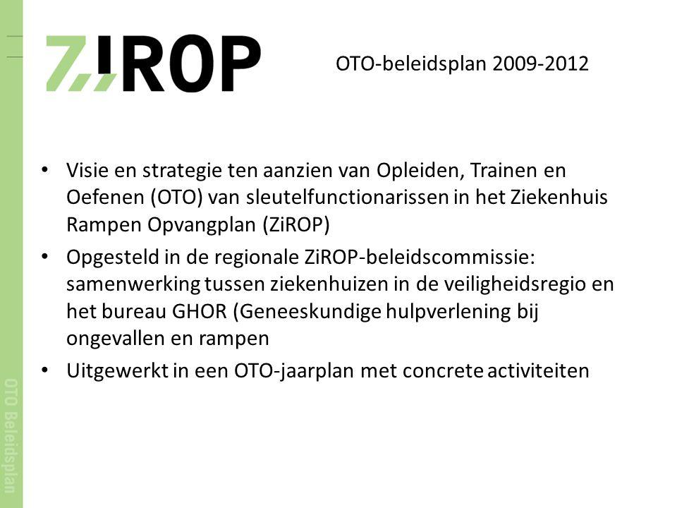 OTO-beleidsplan 2009-2012