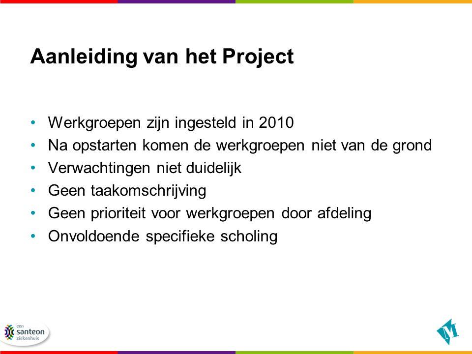 Aanleiding van het Project