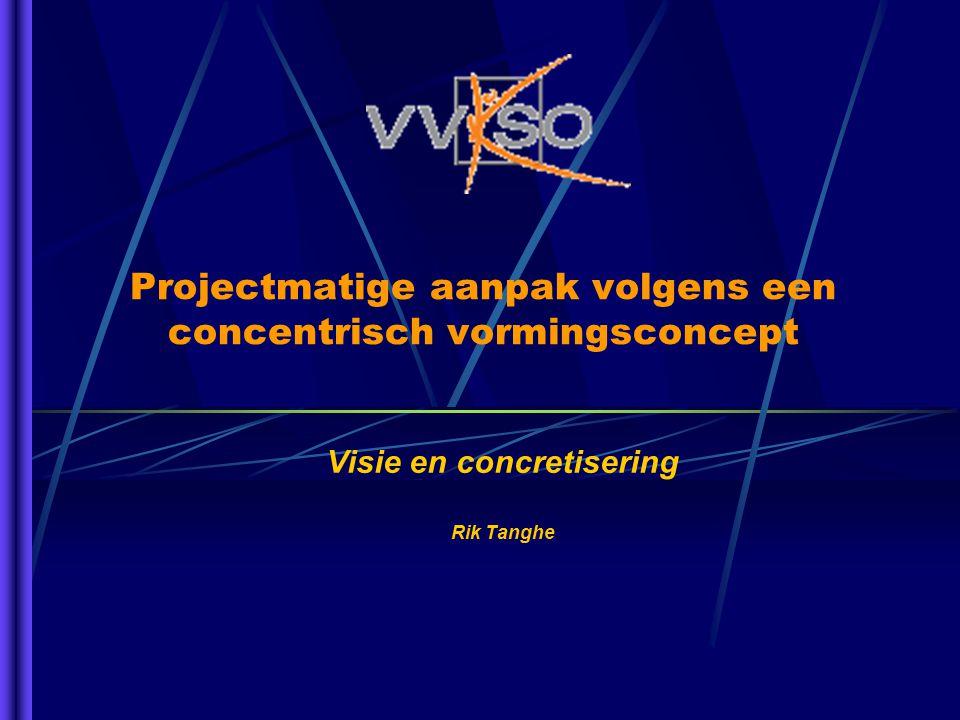 Projectmatige aanpak volgens een concentrisch vormingsconcept