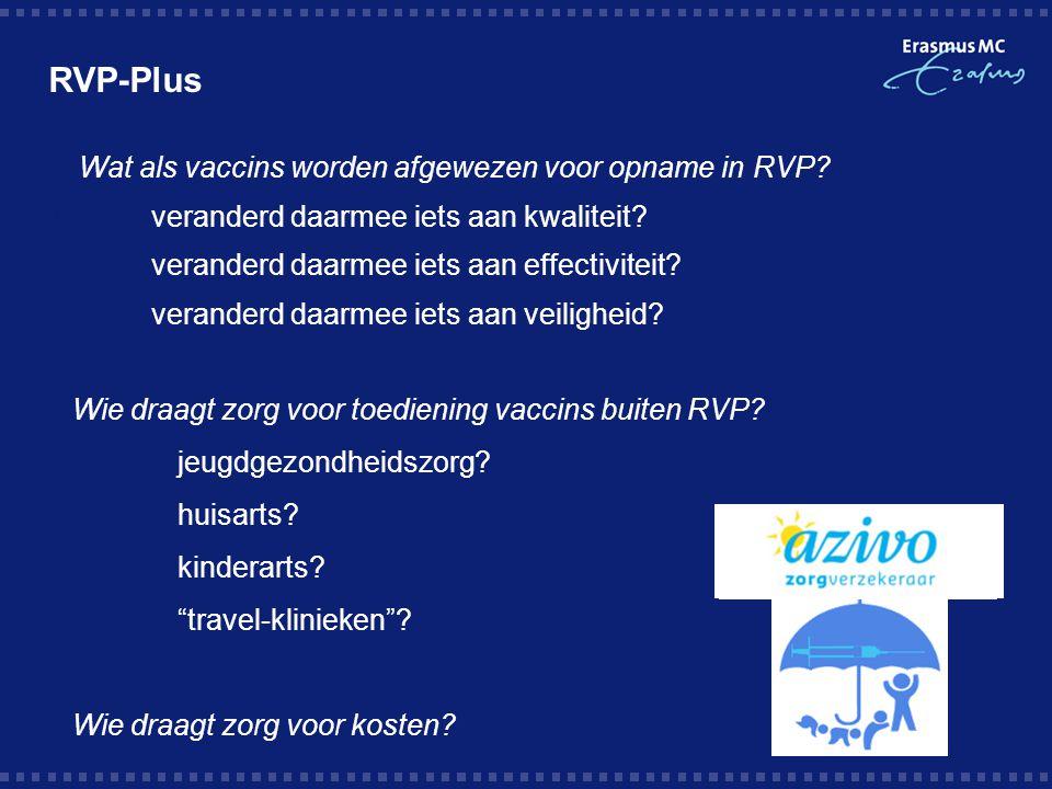 RVP-Plus Wat als vaccins worden afgewezen voor opname in RVP
