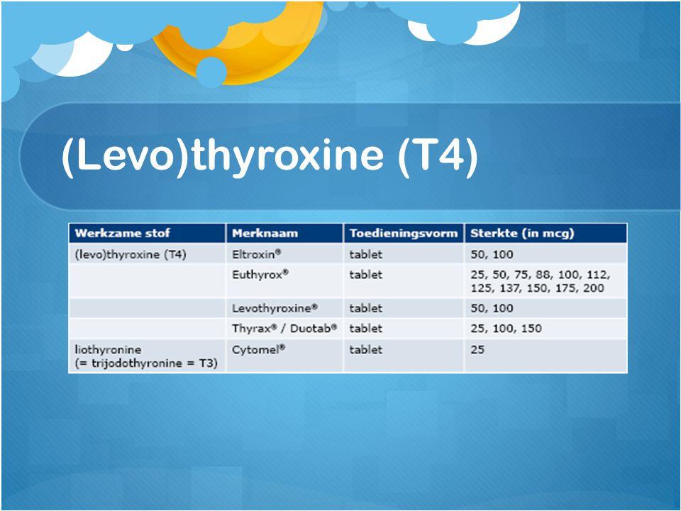 (Levo)thyroxine (T4)