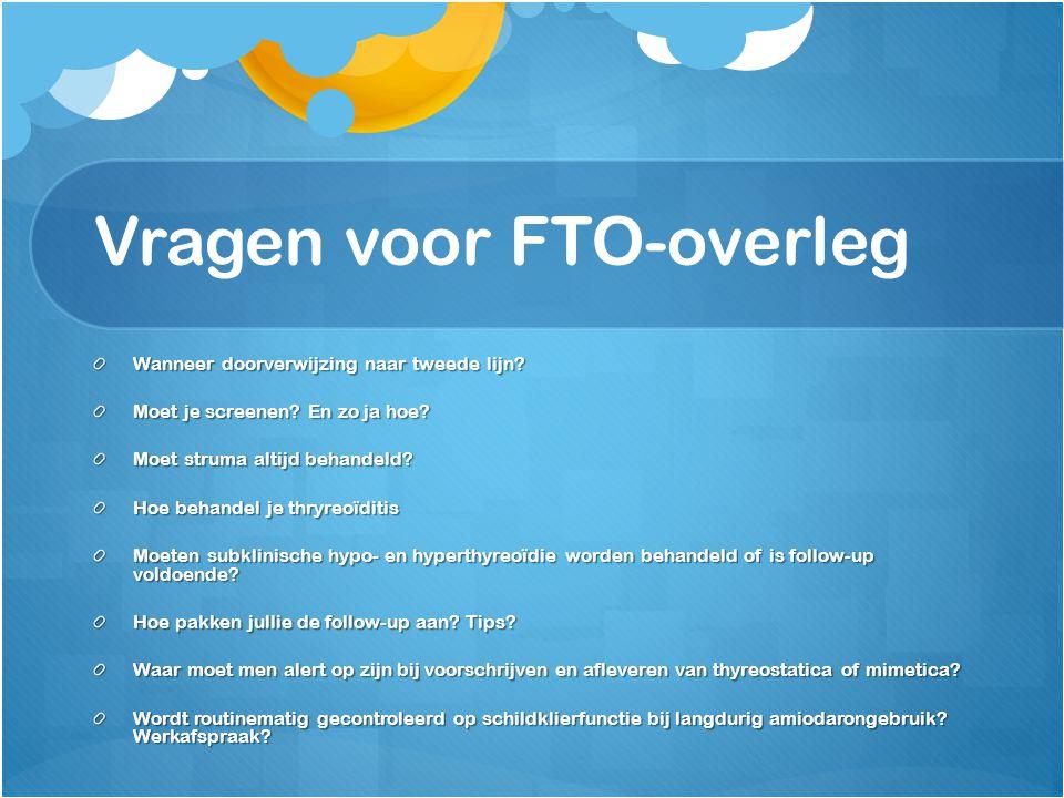 Vragen voor FTO-overleg