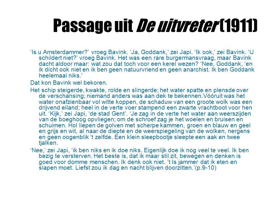 Passage uit De uitvreter (1911)
