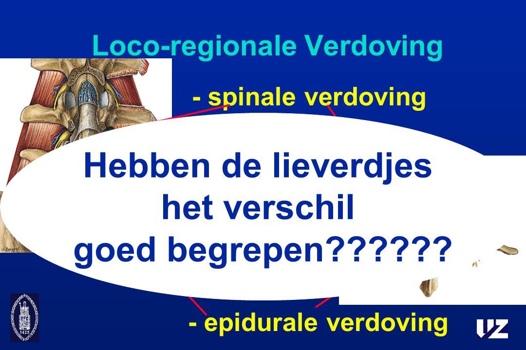 Loco-regionale Verdoving