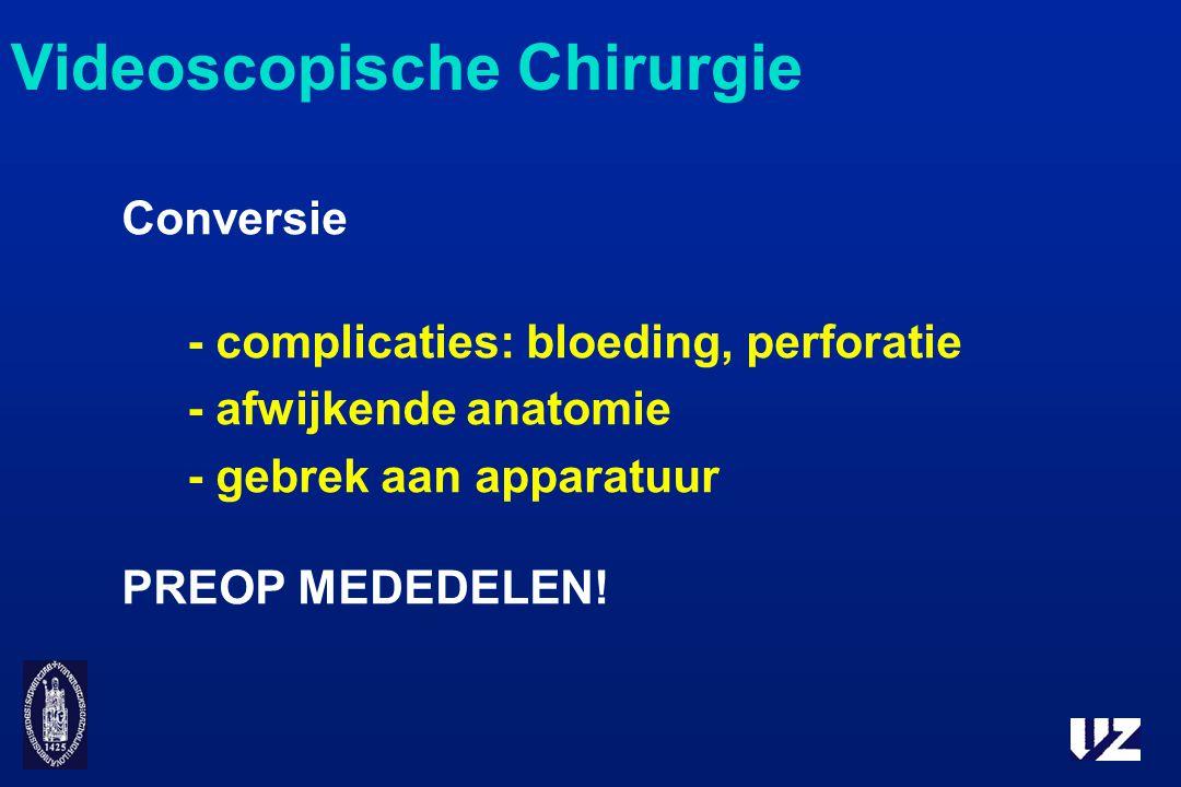 Videoscopische Chirurgie