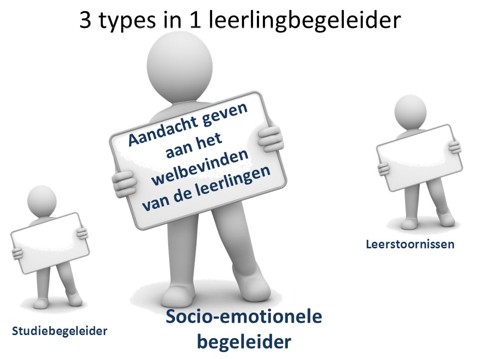 3 types in 1 leerlingbegeleider