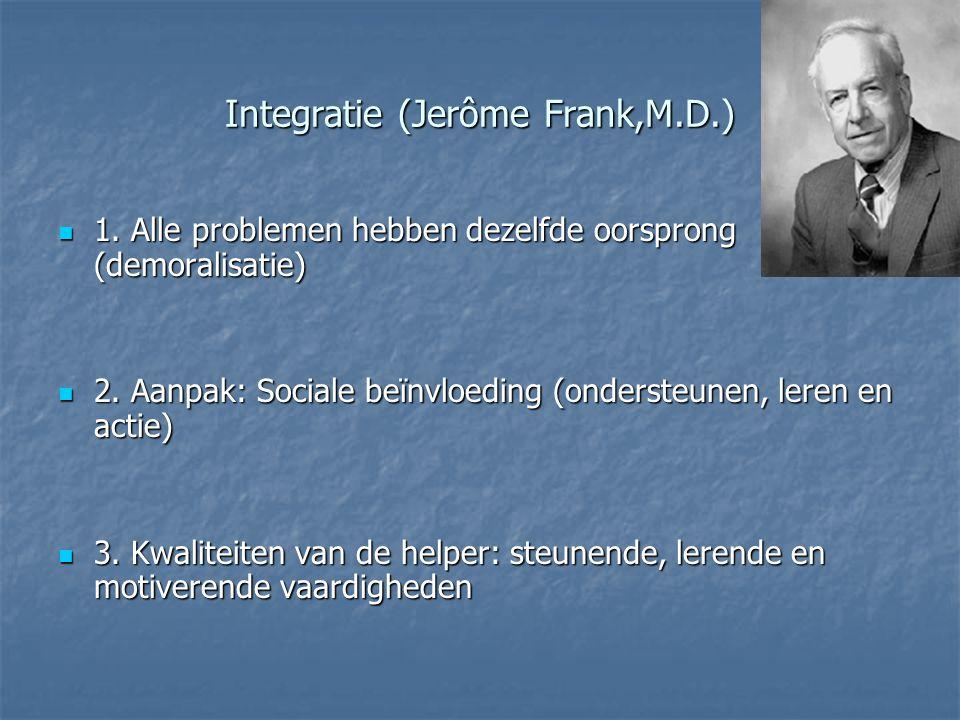 Integratie (Jerôme Frank,M.D.)