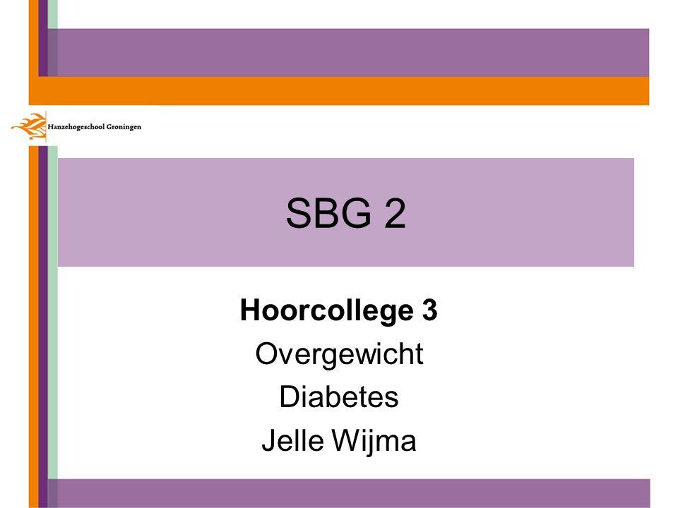 Hoorcollege 3 Overgewicht Diabetes Jelle Wijma