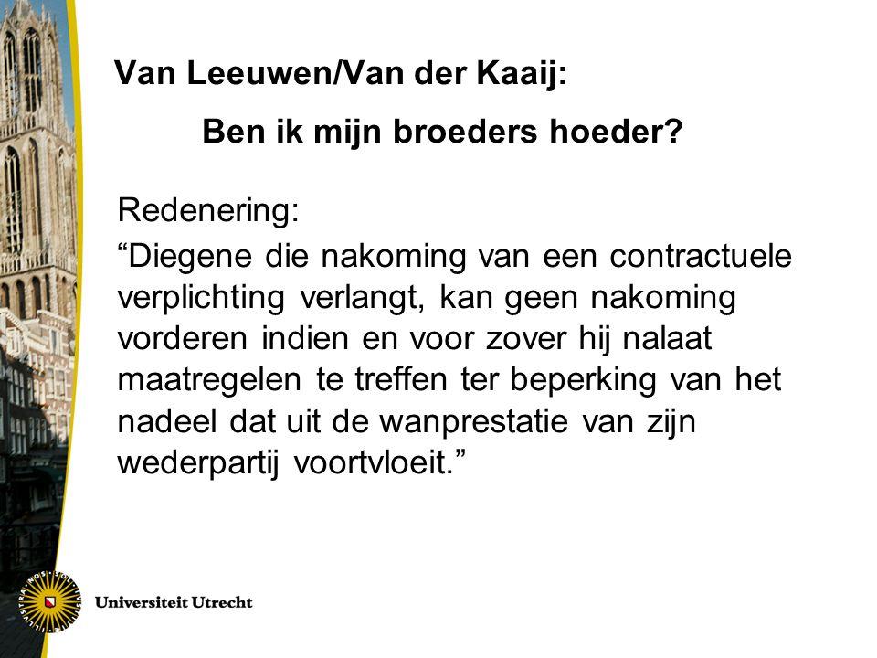 Van Leeuwen/Van der Kaaij: