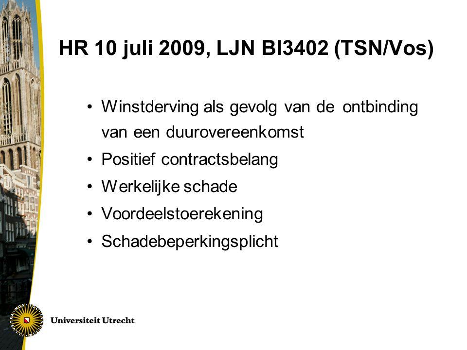 HR 10 juli 2009, LJN BI3402 (TSN/Vos)