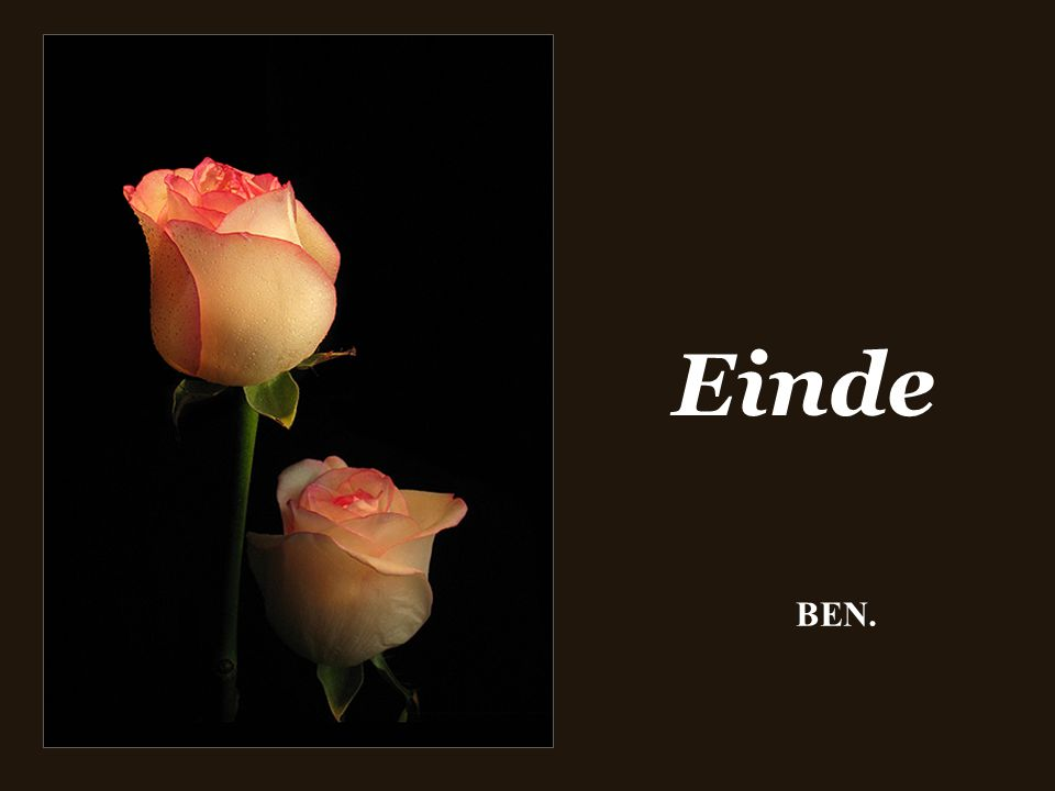 Einde BEN.