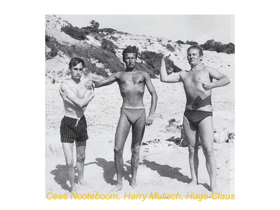 Cees Nooteboom, Harry Mulisch, Hugo Claus