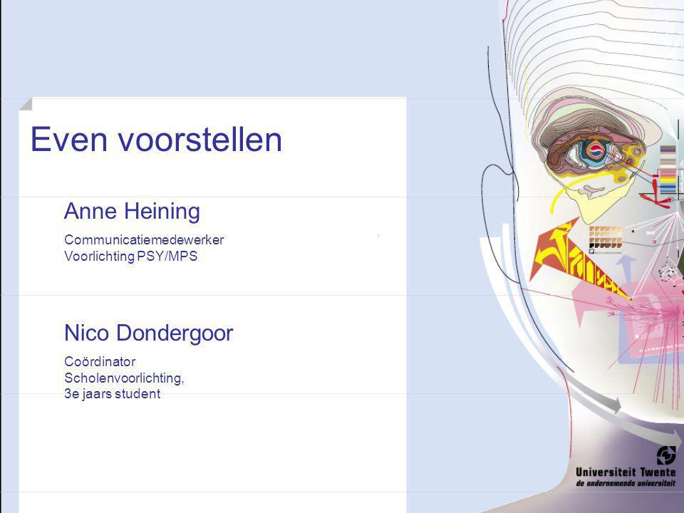 Even voorstellen Anne Heining Nico Dondergoor