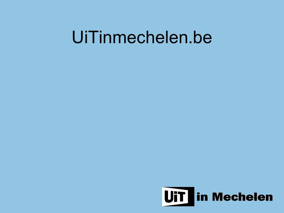 UiTinmechelen.be