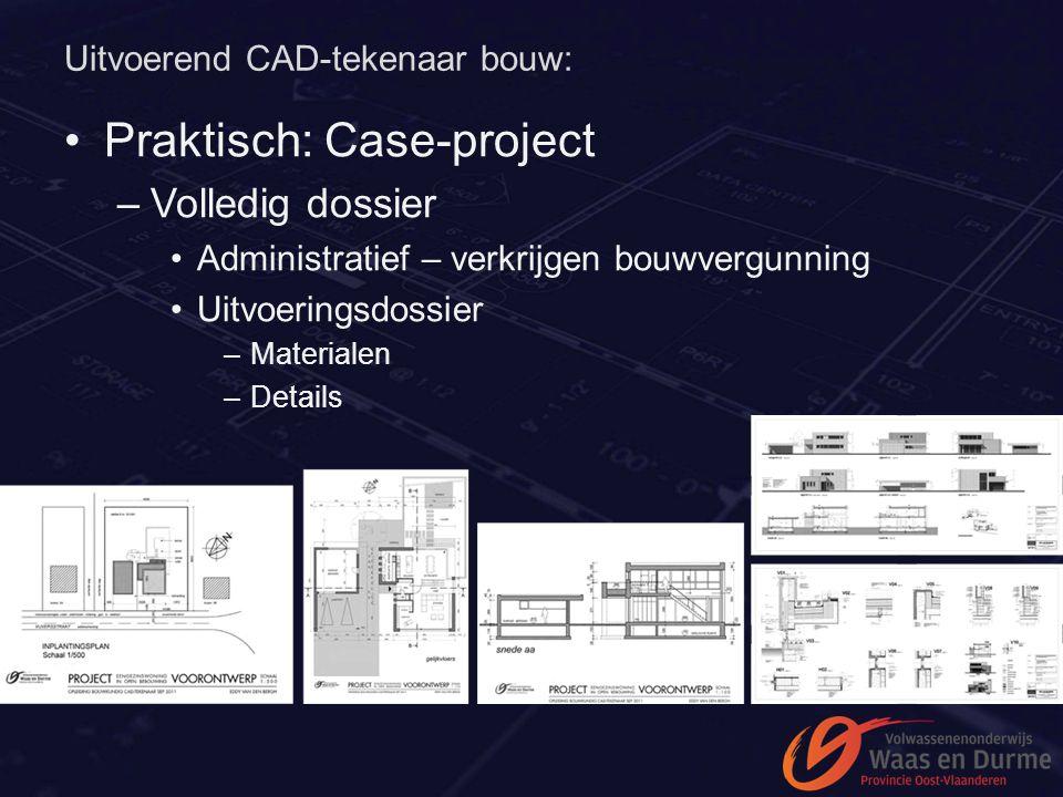 Uitvoerend CAD-tekenaar bouw: