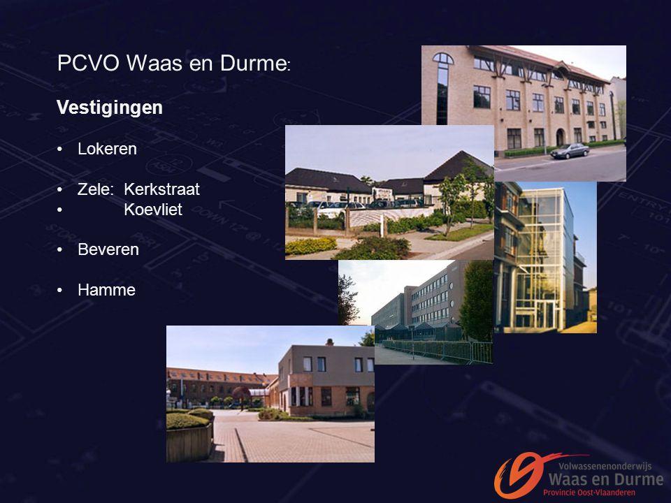 PCVO Waas en Durme: Vestigingen Lokeren Zele: Kerkstraat Koevliet