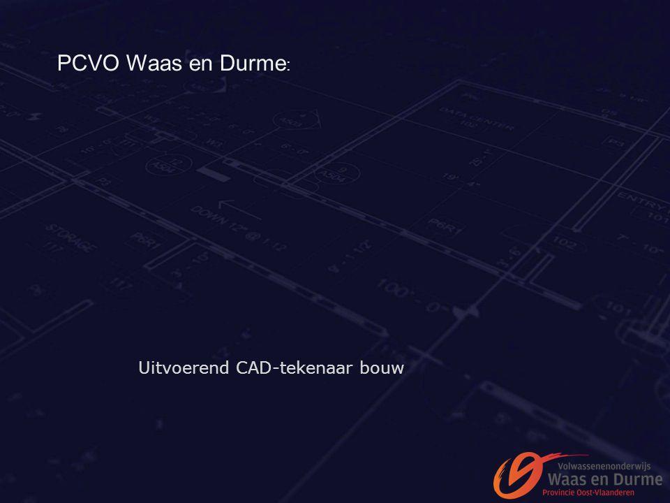 PCVO Waas en Durme: Uitvoerend CAD-tekenaar bouw
